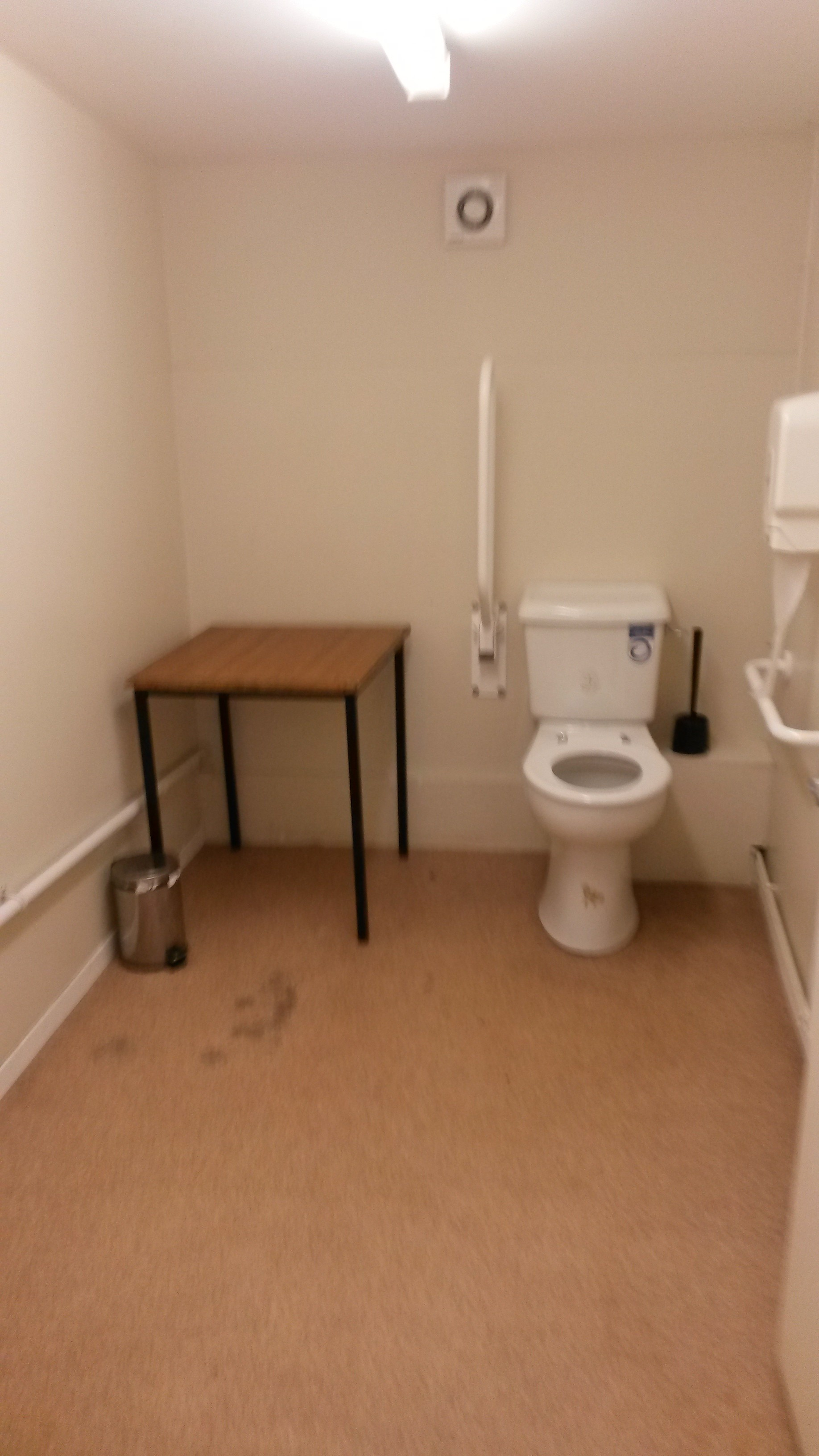 Scout Hall Toilet